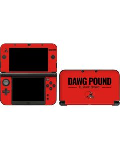 Cleveland Browns Team Motto 3DS XL 2015 Skin