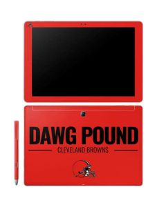 Cleveland Browns Team Motto Galaxy Book 10.6in Skin