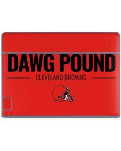 Cleveland Browns Team Motto Galaxy Book Keyboard Folio 10.6in Skin