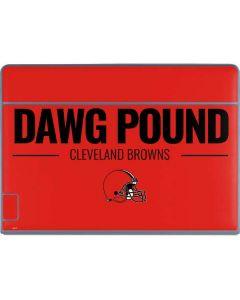 Cleveland Browns Team Motto Galaxy Book Keyboard Folio 12in Skin