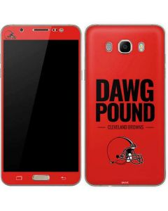 Cleveland Browns Team Motto Galaxy J7 Skin