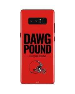Cleveland Browns Team Motto Galaxy Note 8 Skin