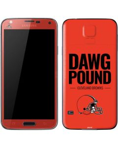 Cleveland Browns Team Motto Galaxy S5 Skin