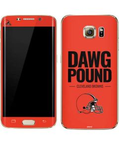 Cleveland Browns Team Motto Galaxy S7 Edge Skin