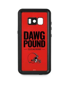 Cleveland Browns Team Motto Galaxy S8 Plus Waterproof Case