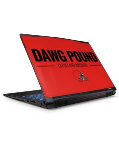 Cleveland Browns Team Motto GP62X Leopard Gaming Laptop Skin