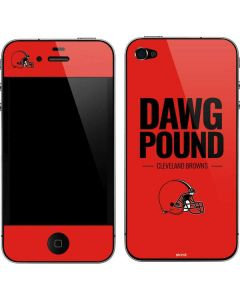 Cleveland Browns Team Motto iPhone 4&4s Skin