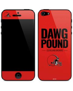 Cleveland Browns Team Motto iPhone 5/5s/SE Skin