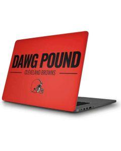 Cleveland Browns Team Motto Apple MacBook Pro Skin