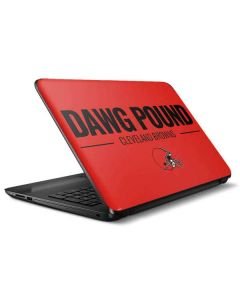 Cleveland Browns Team Motto HP Notebook Skin