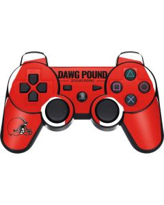 Cleveland Browns Team Motto PS3 Dual Shock wireless controller Skin
