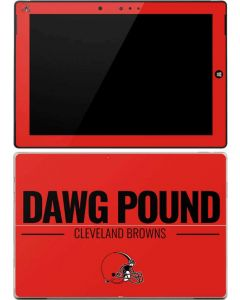 Cleveland Browns Team Motto Surface 3 Skin
