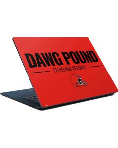 Cleveland Browns Team Motto Surface Laptop Skin