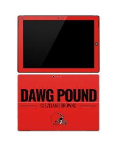 Cleveland Browns Team Motto Surface Pro 3 Skin