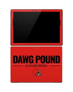 Cleveland Browns Team Motto Surface Pro 4 Skin