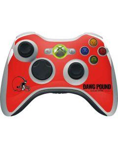 Cleveland Browns Team Motto Xbox 360 Wireless Controller Skin