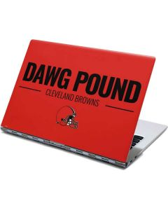 Cleveland Browns Team Motto Yoga 910 2-in-1 14in Touch-Screen Skin