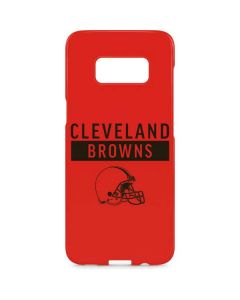 Cleveland Browns Orange Performance Series Galaxy S8 Plus Lite Case