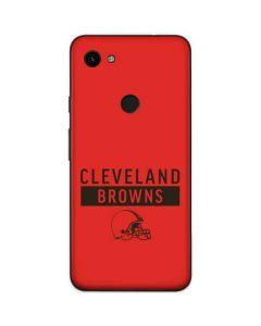 Cleveland Browns Orange Performance Series Google Pixel 3a Skin