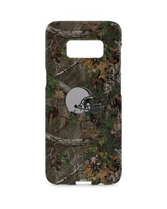 Cleveland Browns Realtree Xtra Green Camo Galaxy S8 Plus Lite Case