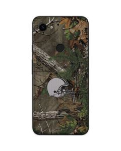 Cleveland Browns Realtree Xtra Green Camo Google Pixel 3a Skin