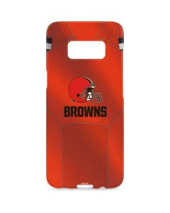 Cleveland Browns Team Jersey Galaxy S8 Plus Lite Case