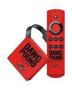 Cleveland Browns Team Motto Amazon Fire TV Skin
