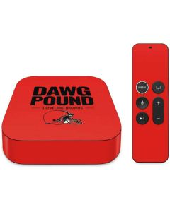 Cleveland Browns Team Motto Apple TV Skin