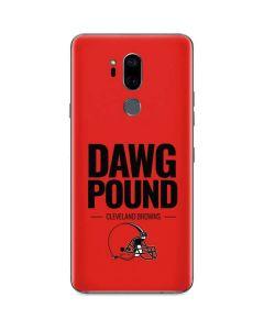 Cleveland Browns Team Motto G7 ThinQ Skin