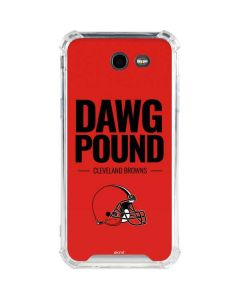 Cleveland Browns Team Motto Galaxy J3 (2017) Clear Case