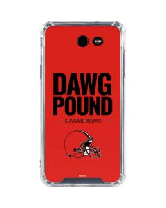 Cleveland Browns Team Motto Galaxy J7 (2017) Clear Case