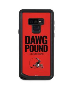 Cleveland Browns Team Motto Galaxy Note 9 Waterproof Case