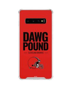 Cleveland Browns Team Motto Galaxy S10 Clear Case