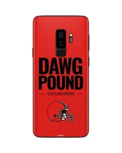 Cleveland Browns Team Motto Galaxy S9 Plus Skin