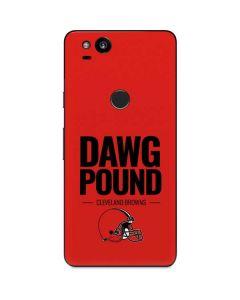 Cleveland Browns Team Motto Google Pixel 2 Skin