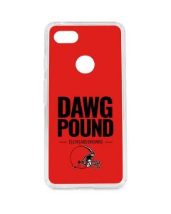 Cleveland Browns Team Motto Google Pixel 3 XL Clear Case