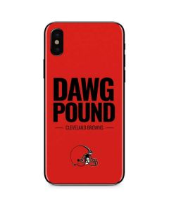 Cleveland Browns Team Motto iPhone X Skin