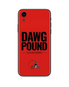 Cleveland Browns Team Motto iPhone XR Skin