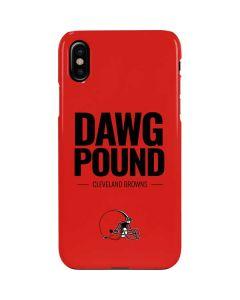 Cleveland Browns Team Motto iPhone XS Lite Case