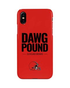 Cleveland Browns Team Motto iPhone XS Max Lite Case