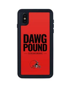 Cleveland Browns Team Motto iPhone XS Max Waterproof Case