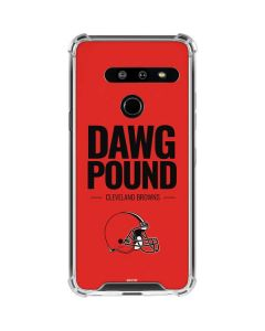 Cleveland Browns Team Motto LG G8 ThinQ Clear Case