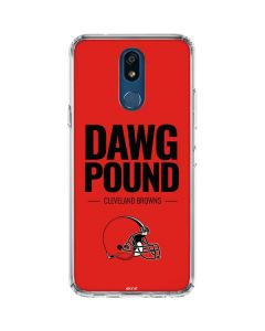 Cleveland Browns Team Motto LG K30 Clear Case