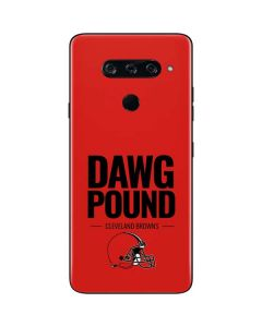 Cleveland Browns Team Motto LG V40 ThinQ Skin