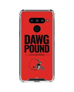 Cleveland Browns Team Motto LG V50 ThinQ Clear Case