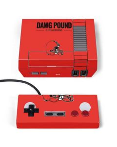 Cleveland Browns Team Motto NES Classic Edition Skin