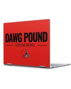 Cleveland Browns Team Motto Pixelbook Skin