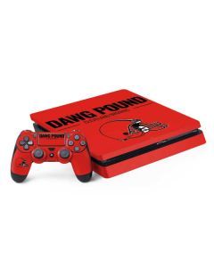Cleveland Browns Team Motto PS4 Slim Bundle Skin