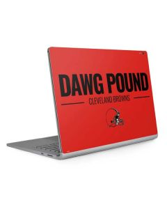 Cleveland Browns Team Motto Surface Book 2 15in Skin