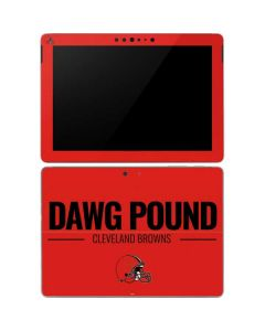Cleveland Browns Team Motto Surface Go Skin